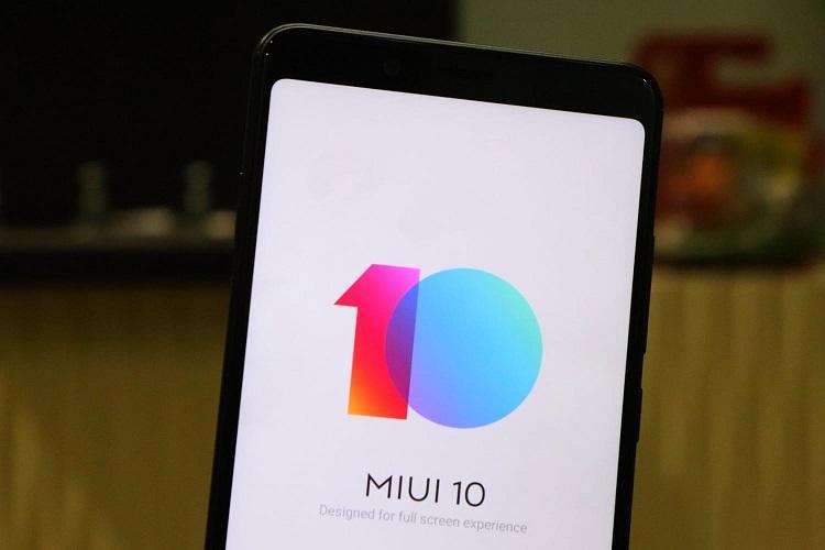 Глобальная прошивка Xiaomi MIUI 10