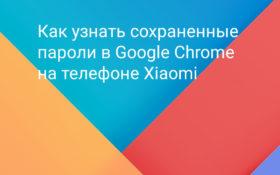 Как узнать пароли хранимые в браузере Chrome