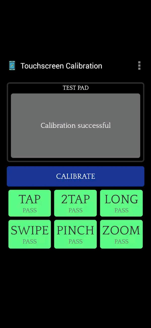 Процесс калибровки экрана Xiaomi