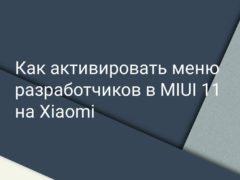 Как активировать режим в MIUI 11 для разработчиков на Xiaomi (Redmi)