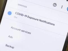 Вот как будет выглядеть меню по отслеживанию контактов с COVID-19 на Android