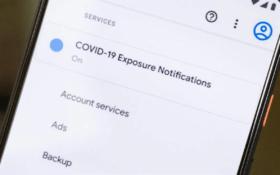 Меню в Android для отслеживания контактов с заражёнными Covid 19