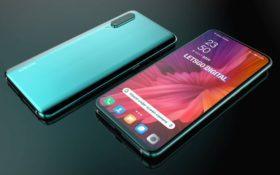 Рендер первого смартфона Xiaomi с камерой под экраном