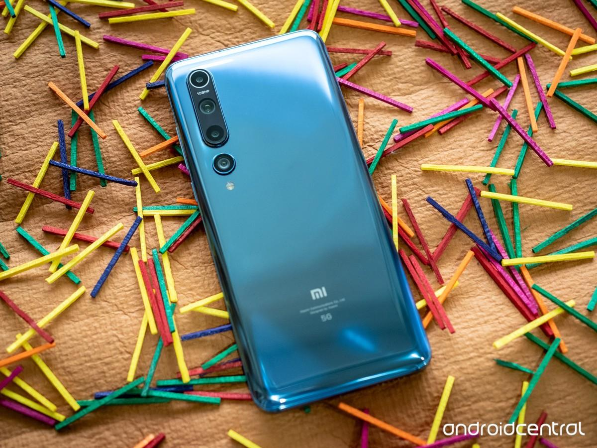 Дизайн телефона Xiaomi Mi 10