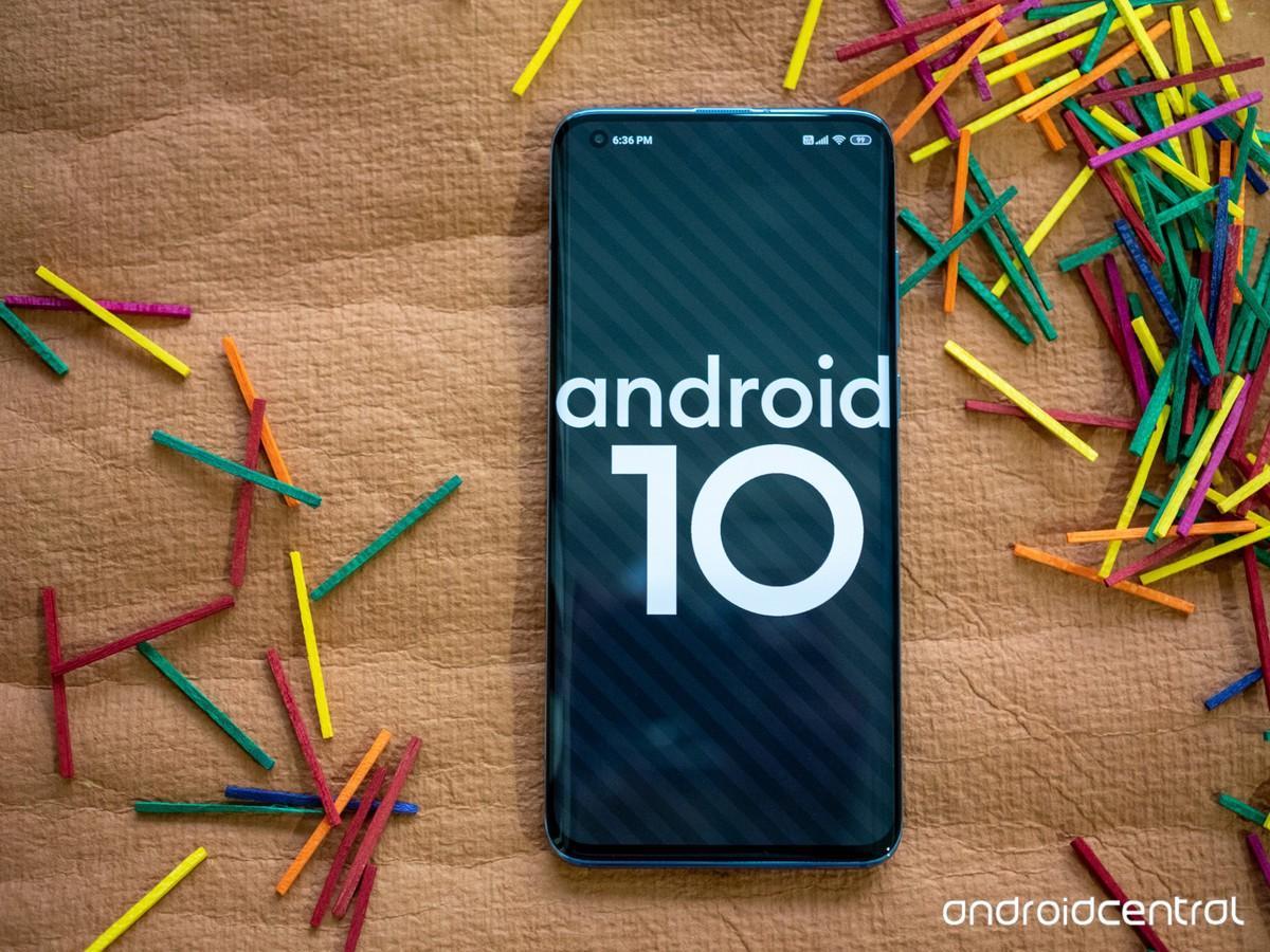 Xiaomi Mi 10 на базе Android 10
