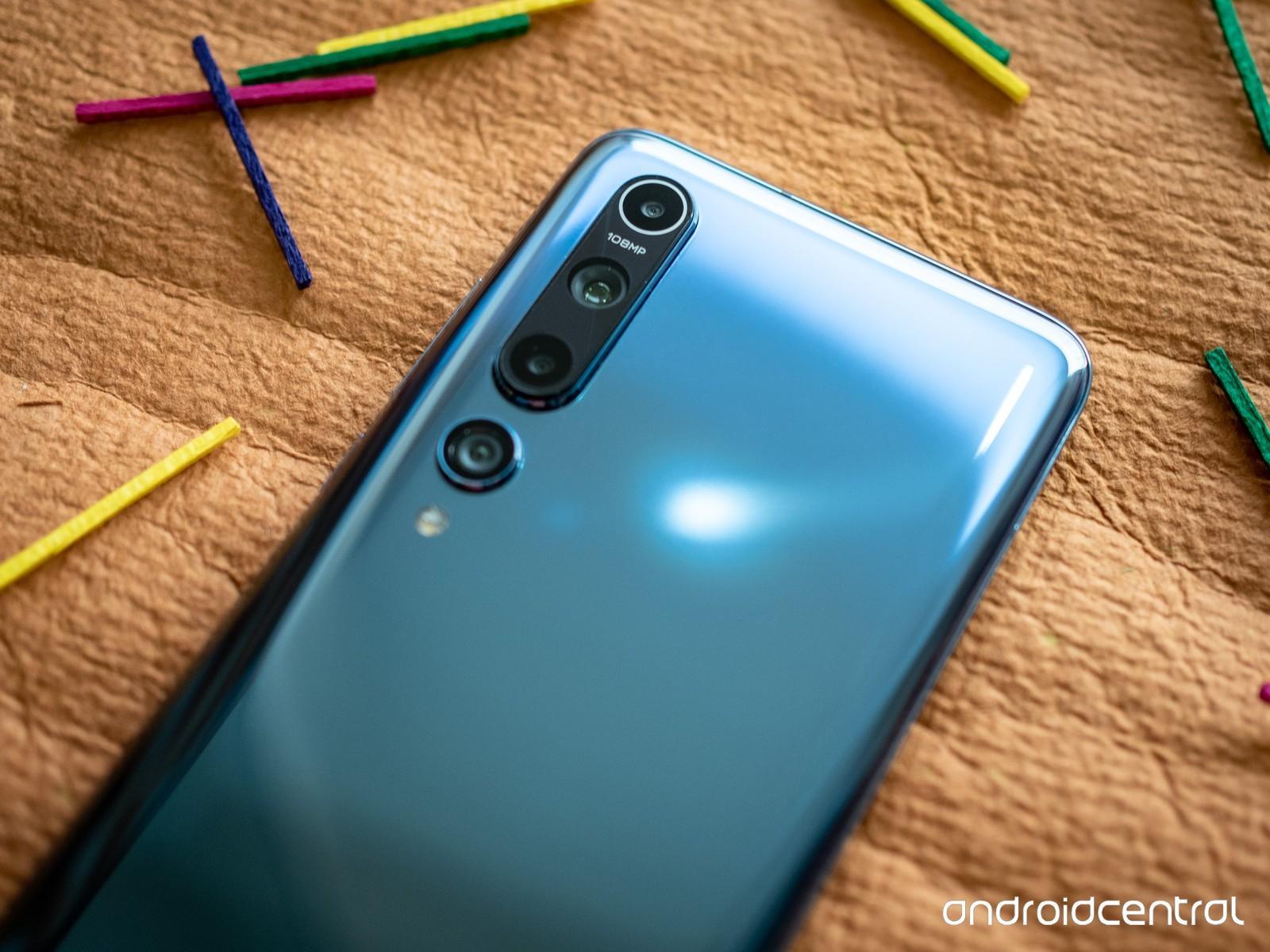 Камеры смартфона Xiaomi Mi 10