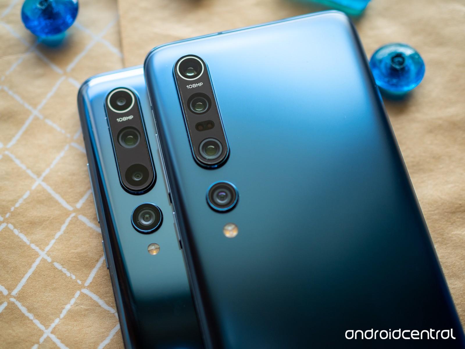 Xiaomi Mi 10 против Xiaomi Mi 10 Pro