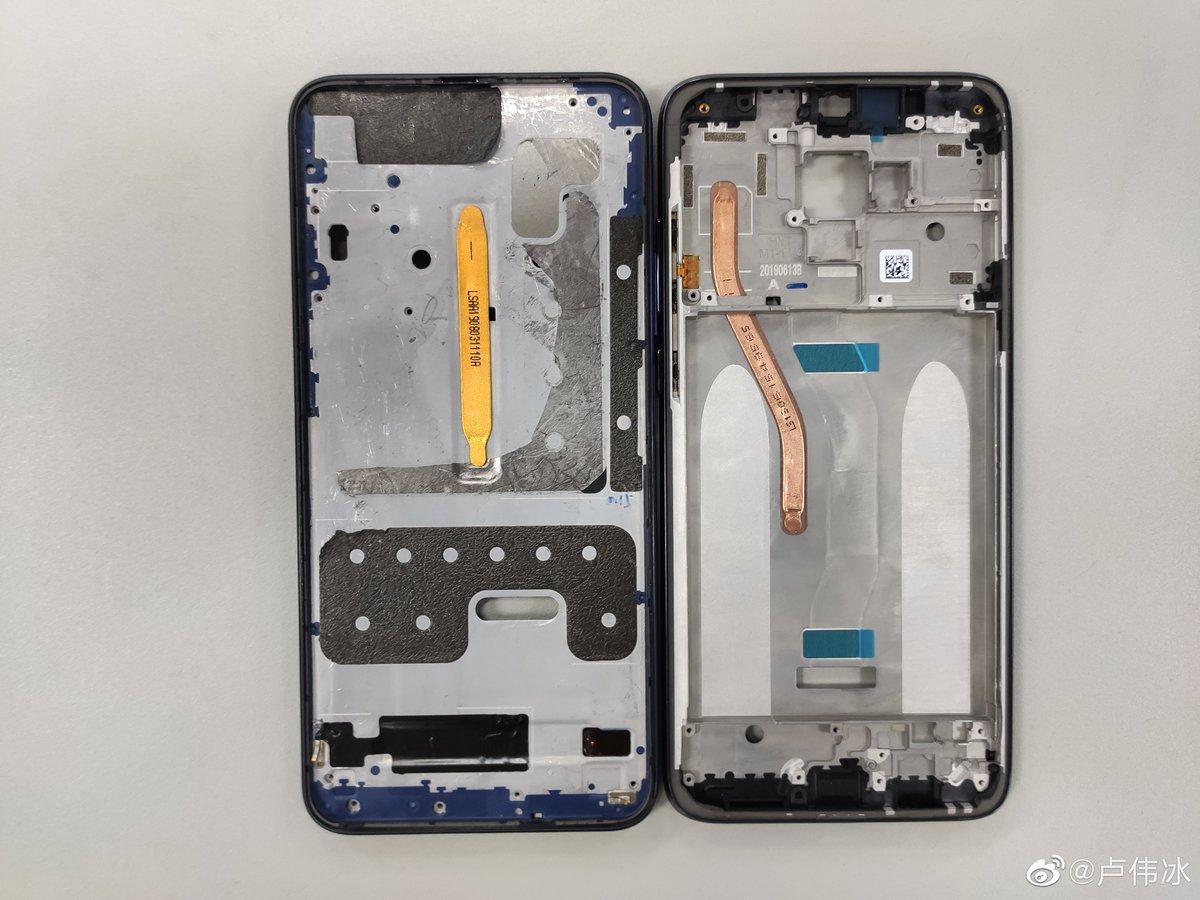Тепловая трубка Redmi Note 8 Pro