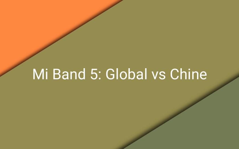 Две версии браслета Mi Band 5: Глобальная и Китайская