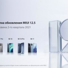 Обновление MIUI 12.5 1.0 – первая стабильная сборка оболочки для Xiaomi