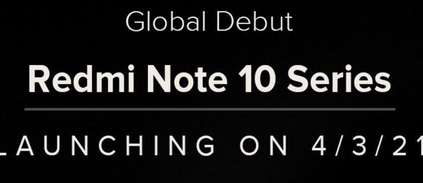 Дата презентации Redmi Note 10