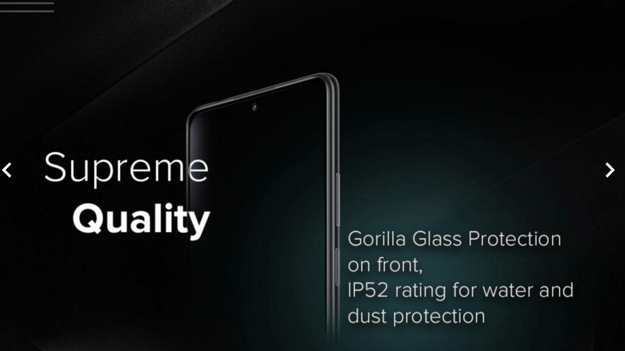 Новый экран Redmi Note 10