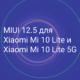 Обновление прошивки до MIUI 12.5 для Xiaomi Mi 10 Lite